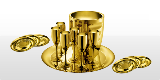 LA PERLE GOLD PLATED