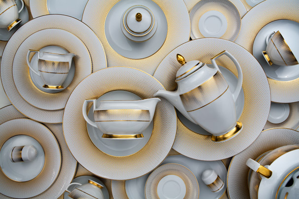 Rio exclusive porcelain is the collection that brings unpreccedented glamour, modernity and refined elegance to the Zepter TableArt product range.